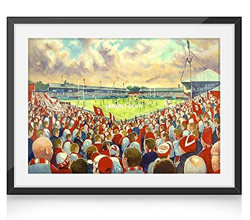 Servicio de asistencia técnica Road Stadium Art 10 x cm 20,32 impresión...