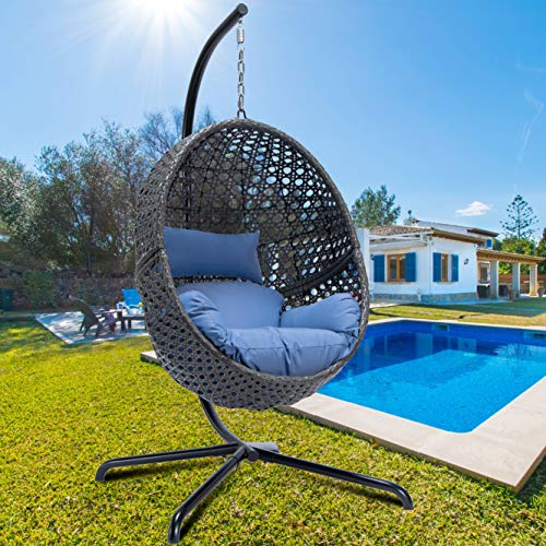 Luxury Large Egg Hanging Chair