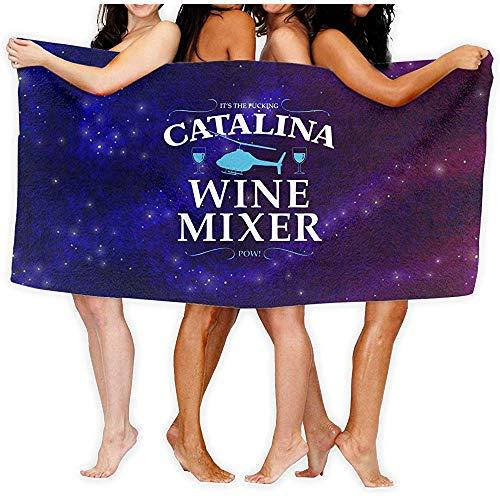 dingjiakemao het is de verdomde Catalina wijn mixer 80 x 130 cm katoen strand handdoeken