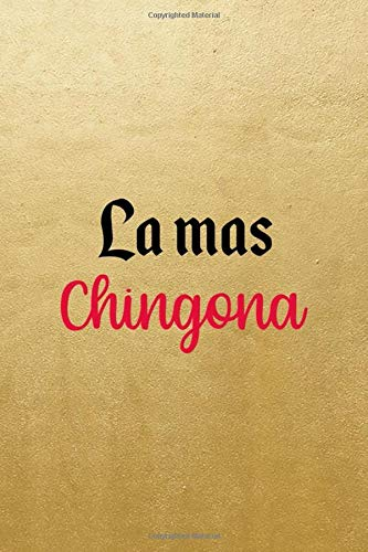 La Mas Chingona: Notebook Journal Composition Blank Lined Diary Notepad 120 Pages Paperback Blue Bikini