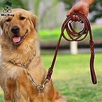 図に示されているように、YSDTLXは大きい犬の鎖Hyenaロープの革の鎖を延長します、2.75 M