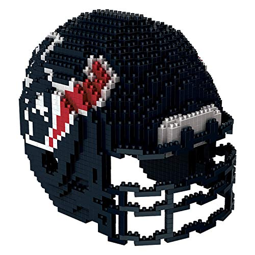 Houston Texans NFL Football Team 3D BRXLZ Helm Helmet Puzzle