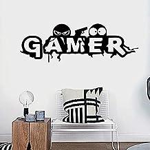 ملصقات الحائط - ملصق حائط مبتكر للألعاب للصبي والأطفال لتزيين غرفة الأطفال ملصقات جدارية فنية ورق جدران كارتون غرفة الألعاب