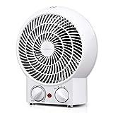 Aigostar Airwin White 33IEK -2000W Calefactor de aire con termostato regulable,...
