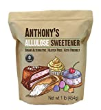 Anthony's Allulose Sweetener, 1 lb, Batch Tested Gluten Free, Keto Friendly Sugar Alternative, Zero Net Carb, Low Calorie