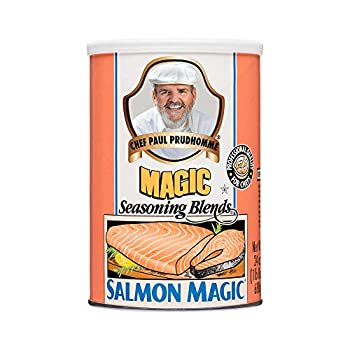 Chef Paul Prudhomme s Magic Seasoning Blends ~ Salmon Magic 24-Ounce Canister