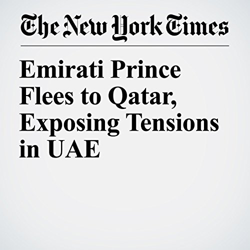 Emirati Prince Flees to Qatar, Exposing Tensions in UAE audiobook cover art