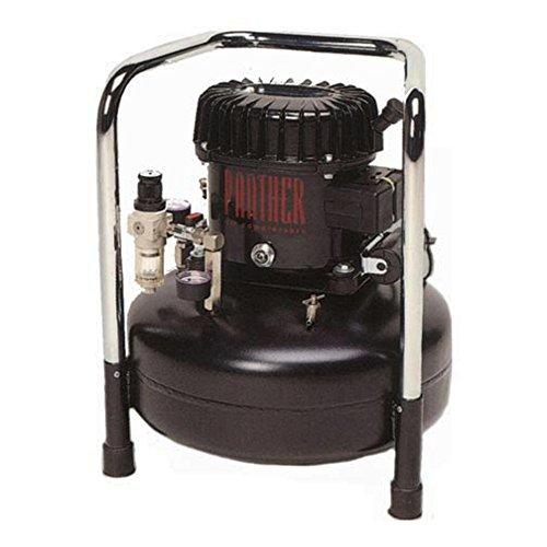 Waarher Sil-Air Black Panther 50-24 - fluisterstille luchtcompressor (40 dbA) van de wereldmarktleider waardeher uit Italië