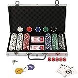 Display4top Juego de poker 300 fichas12 gr- MEJOR VALORADO