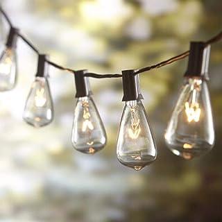 AGICLIGHT 20FT Outdoor Edison Bulbs ST40 String Lights Patio .Christmas String Lights for Garden/
