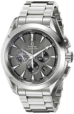 Omega Men's 231.10.44.50.06.001 Seamaster Aqua Terra Chronograph Watch