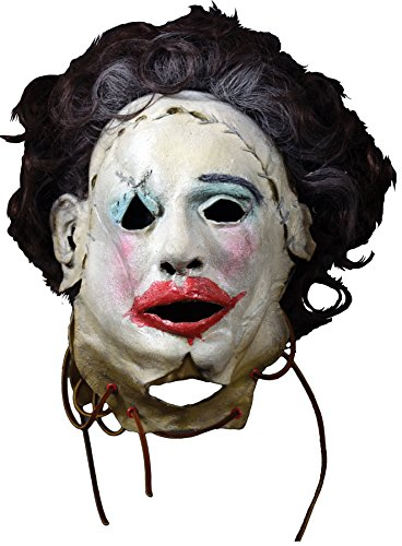 Trick Or Treat Studios Men's Leatherface Pretty Woman Mask Costume Accessory
