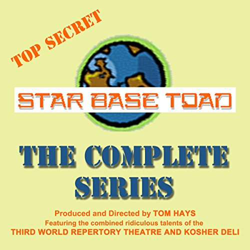 Star Base Toad     The Complete Series              By:                                                                                                                                 Tom Hays,                                                                                        Michael Gaddis,                                                                                        John Adkins                               Narrated by:                                                                                                                                 Michael Gaddis,                                                                                        Mark Wagstaff,                                                                                        Terry McGrew,                   and others                 Length: 3 hrs and 54 mins     2 ratings     Overall 3.5