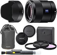 Sony Sonnar T FE 55mm f/1.8 ZA Lens SEL55F18Z Mirrorless Camera Prime Lens 55mm f1.8 with AOM Pro Bundle International Version