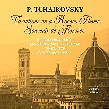 Pyotr Ilyich Tchaikovsky: Variations on a Rococo Theme & Souvenir De Florence