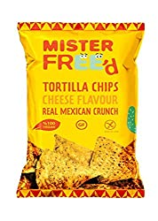 Healthy and tasty tortilla chips The entire Mister Freed range are all are hand-baked in East London, using only the finest natural ingredients without any added nasties Vegan, gluten free Perfect for on-the-go consumption