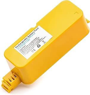 Roally 4000mAh irobot Battery Replacement for iRobot Roomba 400 Series 400 405 410 415 416 440 4000 4100 4105 4110 4130 4150 4170 4188 4210 4220 4225 4230 4232 4260 4300 Robotic Vacuum Cleaner
