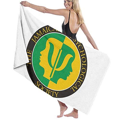 Toalla de baño de microfibra de secado rápido con banderas nacionales de Jamaica, toalla de playa para mujeres/niños/hombre, toalla de baño extra grande para senderismo, camping/ducha