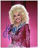 Photo Dolly Parton Autograph Signed 8 x 10
