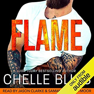 Flame cover art