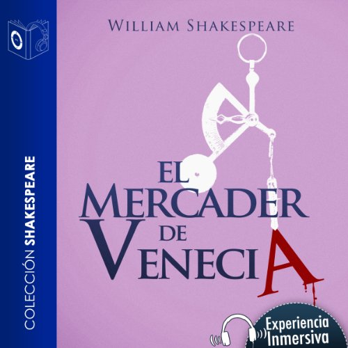 El mercader de Venecia [The Merchant of Venice] audiobook cover art