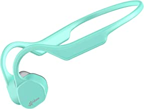 Vidonn F3 Bone Conduction Headphones Open Ear Wireless Bluetooth 5.0 Sport Earphones w/Mic HD Stereo Sweat-Proof Lightweig...