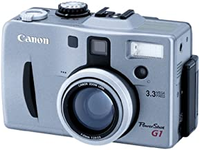 Canon Powershot G1 3MP Digital Camera w/ 3x Optical Zoom
