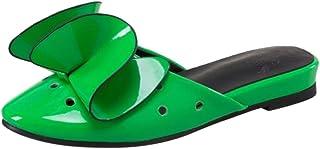 JOJONUNU Women Flats Slide Sandals