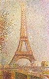 1art1 Georges Seurat - Der Eiffelturm Poster Kunstdruck 80