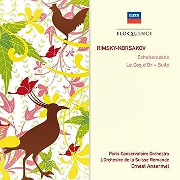 Rimsky-Korsakov: Scheherazade; Le Coq d'Or - Suite