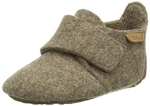 Bisgaard Mädchen Baby Wool Hausschuhe, Braun (Camel 46), 25 EU