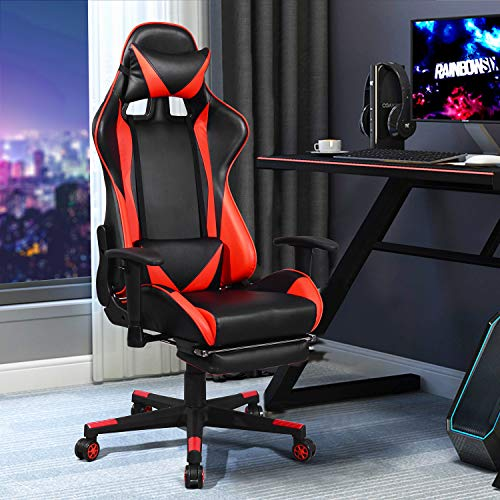 silla gamer roja fabricante HOMEMAKE FURNITURE
