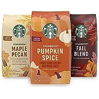 3-Pack Starbucks Flavored Ground Coffee (Variety Pack)