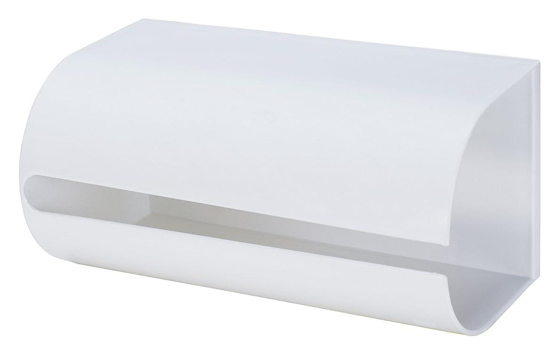 レタスマラウイセミナーlike-it ペーパーホルダー キッチンペーパーホルダー マグネット ホワイト 幅25.8x奥13.5x高12.8cm Mag-On8038