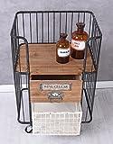Barwagen Vintage Servierwagen Trolley Table Teewagen Art Deco Hausbar Palazzo Exklusiv