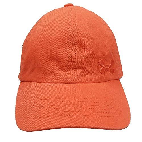 UNDER ARMOUR アンダーアーマー レディース ジュニア 女性用帽子 ランニング キャップ 帽子 55〜58cm - デザインA/キャロット