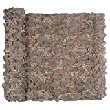 Red de camuflaje de caza, red de camuflaje para decoración, protección solar, caza, camping, exterior, militar (hierba, 1,5 x 4 m)
