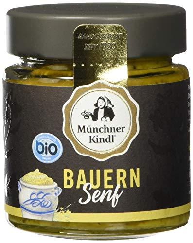 Münchner Kindl Bauern Senf, 6er Pack (6 x 125 ml)