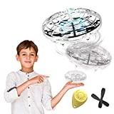 98K Hand Operated Drones for Kids or Adults, Light Up Joy Flying Ball Drone, Helicopter Mini Drone, Easy Indoor Small Flying Toys Gift for 4, 5, 6, 7, 8, 9, 10, 11, Year Old Boys and Girls