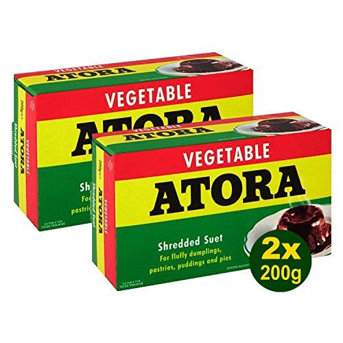 Atora Light Shredded Vegetable Suet 2x 200g (400)