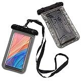 Schutzhülle für Xiaomi Serie Tasche Handyhülle Wasserdichte Strand Outdoor Hülle, Farbe:Schwarz, Smartphone:Xiaomi Mi 4c