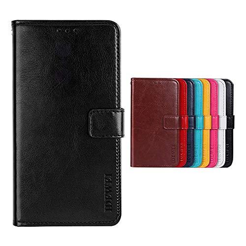 SHIEID Handyhülle für Cubot C30 Hülle Brieftasche Handyhülle Tasche Leder Flip Hülle Brieftasche Etui Schutzhülle für Cubot C30(Schwarz)