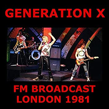 Generation X FM Broadcast London 1981