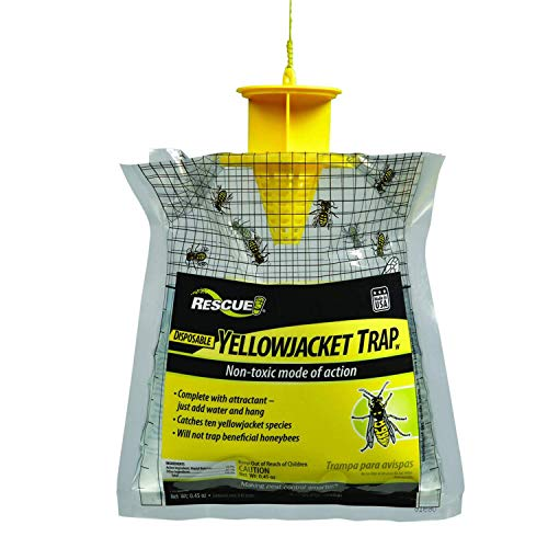 RESCUE! Non-Toxic Disposable Summer Yellowjacket Trap with Attractant – Western Time Zones