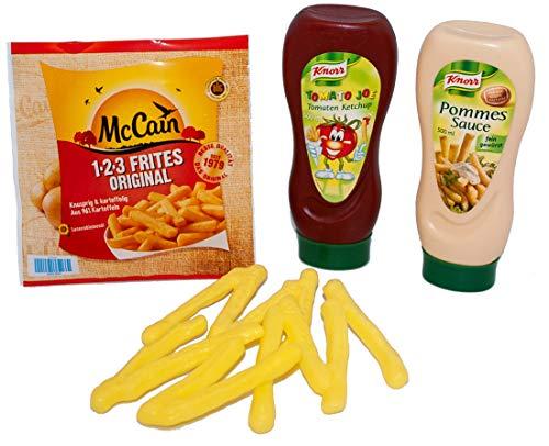 Christian Tanner 2020728 Tanner 62.7 - Mc Cain Pommes mit Ketchup und Mayo, Spiel Lebensmittel