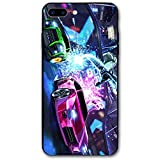 ROC-Ket Cover Lea-GUE iPhone 7 Plus Case iPhone 8 Plus Case 5.5', iPhone Case Soft TPU Anti-Scratch Protective Cover for iPhone 7/8 Plus