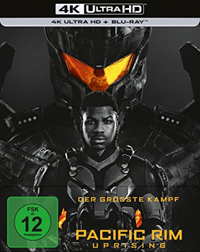 PACIFIC RIM: UPRISING (4k UHD) Limited Steelbook [Blu-ray] [Limited Edition]