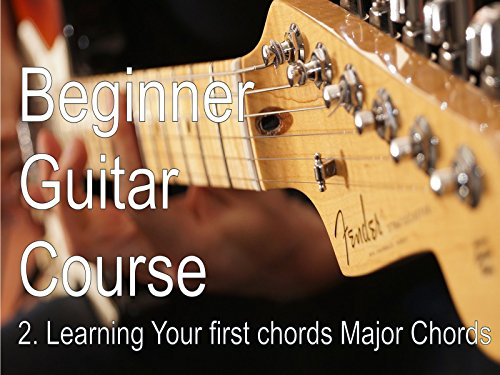 Learning Your first chords - Major Chords A, D and E