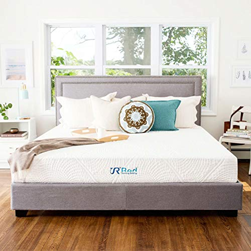 "Sunrising Bedding 12"" Gel Memory Foam Mattress Queen Size, Firm, No Harmful Chemicals, No Fiberglass, Adjustable Bed Frame Compatible"