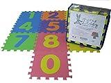 Babyspielmatte-Aufbewahrungsbeutel eingeschlossen-Weiche Schaumstoffmatte -